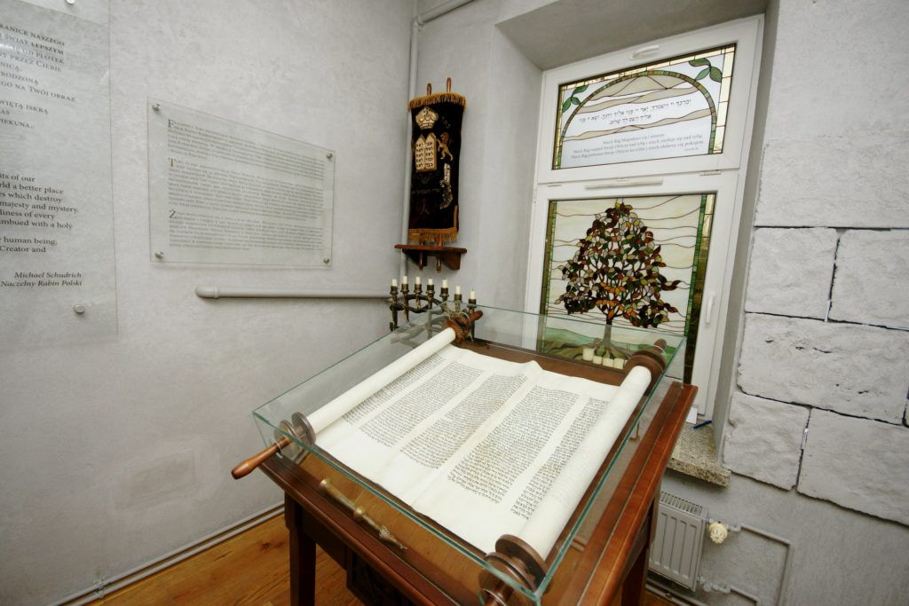 Torah in the room of blessings