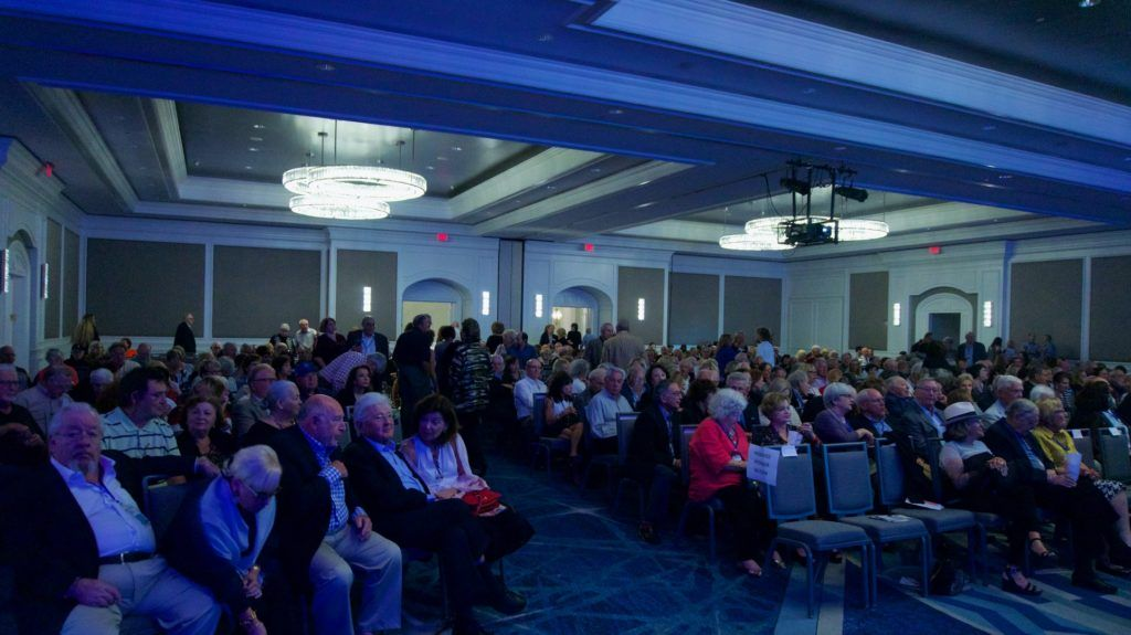 500 people gather at the opening of the Sarasota Mantee Jewish Film Festival at Ritz-Carlton hotel